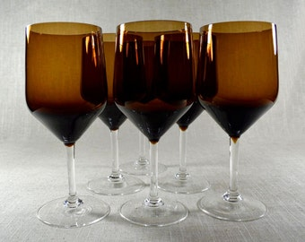 Swedish Modern Stemware - 6PC Set