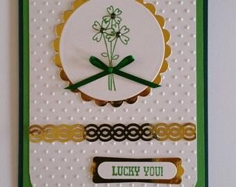 St. Patrick's Day Card Kit of 5