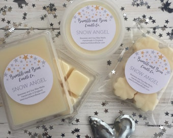 Scented Wax Melts Cubes, Beeswax and Soy Wax Melts Cubes (6 per pack)