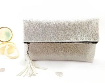 Bridal clutch Personalized bridal bag Leather bridesmaid clutch Wedding bag Monogram clutch bag Gift for bridesmaid Purse bag Bridesmaid bag