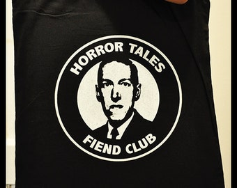 HORROR TALES Fiend Club Totebag - Classic horror literature