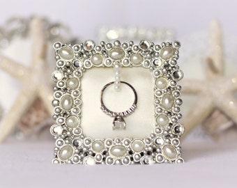 wedding ring holder ring holder engagement gift ring holder sparkly ring holder - Wedding Ring Holder