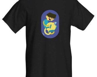 Black Wommel Shirt