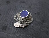 Starry Night Lapis Lazuli silver necklace