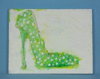 st patrick shoe Original Painting, New Orleans