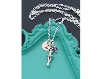 Ballet Gift • Ballerina Necklace • Ballet Dancer Gift • Recital Dance Necklace • Girls Ballet Class Gift Girls Sweet Gift Pink