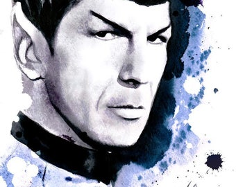 Spock -Star Trek- Wall Art