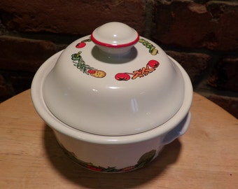 Campbell's Soup Bowl Crock with Lid, 1996 Campbell's soup crock, Vintage campbell's