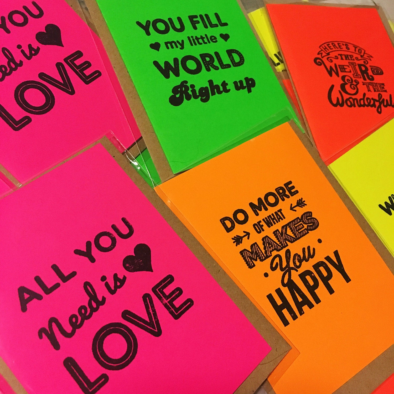 My mini cards