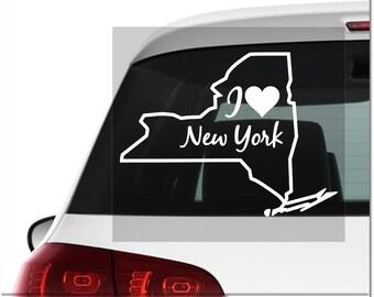 New York Decal Etsy - Custom vinyl decals nyc