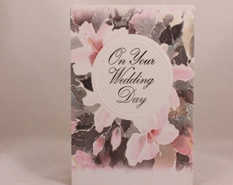 """Paper Images """"On Your Wedding Day"""" Greeting Card and Envelope"""