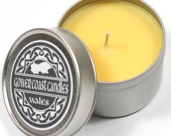 Sparkling Lemon Handpoured Highly Scented Candle Tin