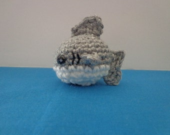 Shark Amigurumi - Shark Plushie - Crochet Shark
