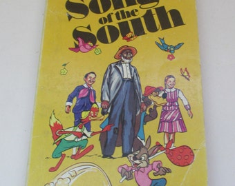 Vintage Children's Book - Disney's Song of the South Paperback
