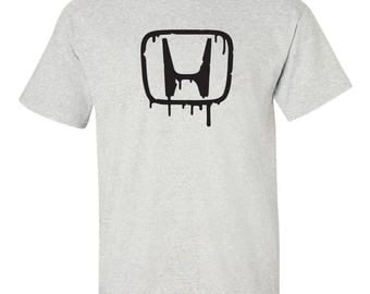HONDA MELTING Graphic Tee  100% Screen Printed  ***Free Shipping***