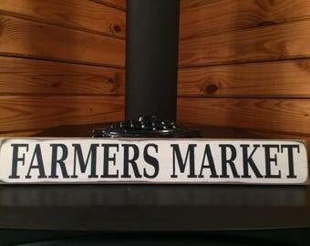 FARMERS MARKET 24x4 sign