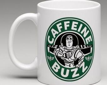 Buzz Lightyear Inspired Coffee Mug