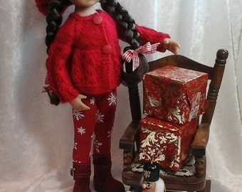 Little Darling Doll Christmas outfit/dolls clothes