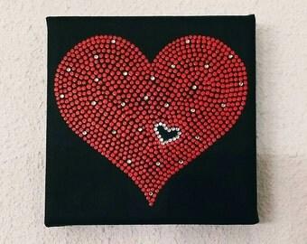 Dot Art Mini Canvas 10 x 10 cm.