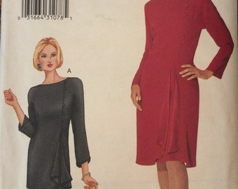 Beautiful Mother-of-Bride Dress or Tunic and Skirt---Vogue 7206---Size 14-16-18  UNCUT