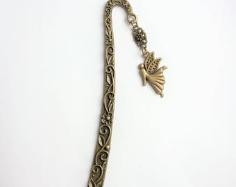 Bookmark Book Mark or letter opener with Fairy charm