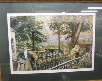 Artists Proof Framed Print, The Prodigal Son, Signed By The Artist Carel Weight