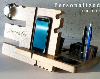 Docking station Boyfriend gift , gift for fiancé , gift for him fiancé,gift Fiancé,gift for groom from bride,gift mens,gift for husband gift