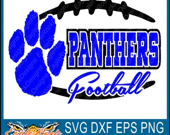 Edgy| Panthers Football| SVG| DXF| EPS| Png| Cut File| Panthers| Football| Panthers Cut File| Football Cut File| Instant Download
