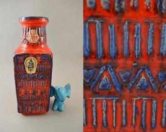 Vintage vase / Bay / 70 25 / Bodo Mans | West Germany | WGP | 60s
