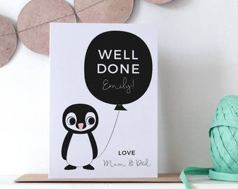Congratulations Exams Personalised Card
