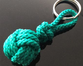 Monkeys fist Knotwork Keyring