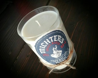 Michters whiskey candle