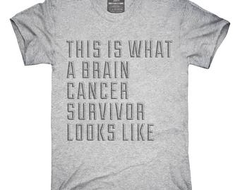 This Is What A Brain Cancer Survivor Looks Like T-Shirt, Hoodie, Tank Top, Gifts