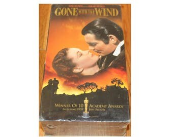 Gone With The Wind VHS 1980s NEW in original packaging MGM Studios color