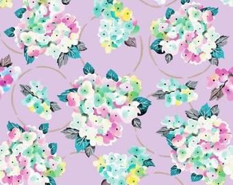 "Crib Sheet or Changing Pad Cover | Girl Baby Bedding | ""Lyla"" Crib Sheet | Purple Floral Nursery | Lavender Lilac Sheet | Standard or Mini"