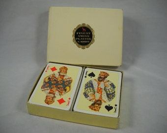 Playing Cards Finest Swiss Double Deck Boxed Set