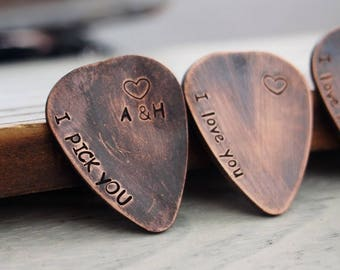 Custom pick, guitar pick personalized, guitar pick engraved guitar pick, Mens personalized, guitar pick boyfriend, husband, mens custom gift