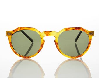 Round Horn Rim Style Spike Lee Sunglasses - Melrose