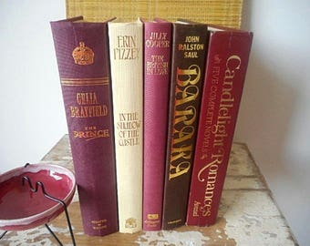 Vintage Book Bundle  1980s - 1990s  Set of Five