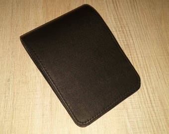100% Real Genuine Leather Cover Notebook 9x14 can be used fop Moleskine Pocket Ruled Reporter Journal Planner Diary