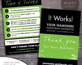it works business cards