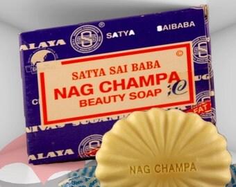 Nag Champa Soap - FREE SHIPPING, beauty soap, nag champa oil soap.  Free Shipping in U.S.