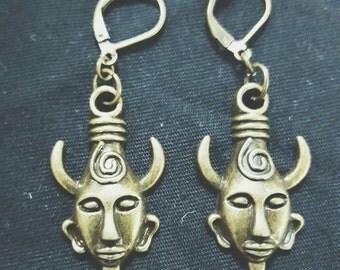 Supernatural Replica Dean Winchester Amulet Earrings