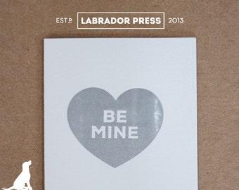 Be Mine Valentine Card