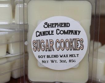 Sugar Cookie Wax Melts, Sugar Cookies, Wax Melts, Scented Tarts, wax tarts, cookie wax melts