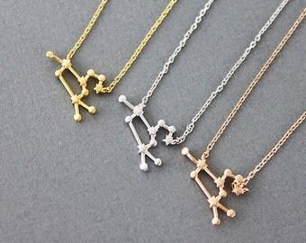 Leo Necklace Leo Constellation Necklace Zodiac Sign Necklace Birthday Gift Zodiac Necklace