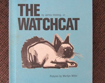 The Watchcat by James Holding, Jr Marilyn Miller 1975 Weekly Reader Edition Free Shipping