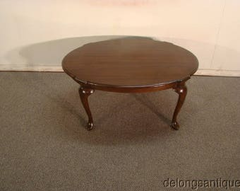 Harden Solid Cherry Queen Anne Coffee Table