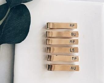 Gold Tie Bar Bundle for Groomsmen