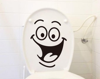 Funny Toilet Lid Decal